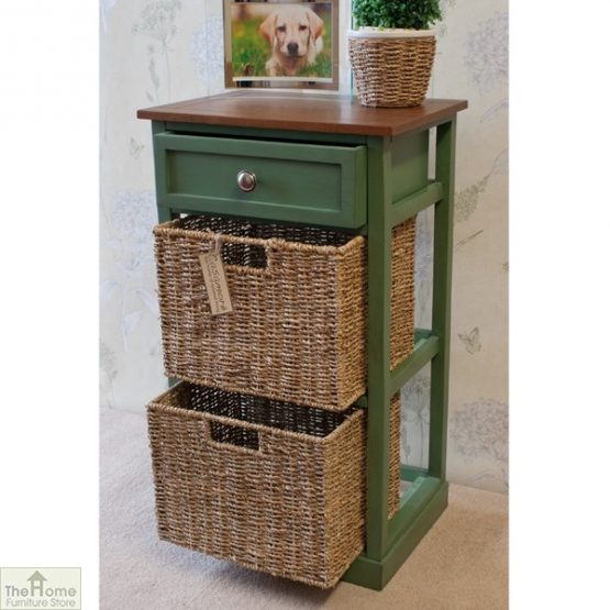 Country Cottage 3 Drawer Storage Chest_4