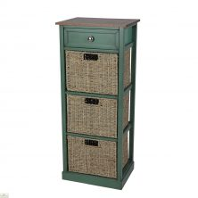 Country Cottage 4 Drawer Tallboy