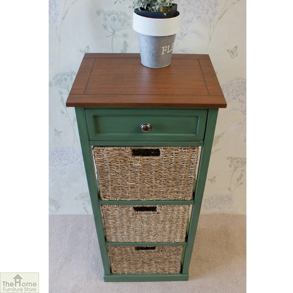 Country Cottage 4 Drawer Tallboy_2