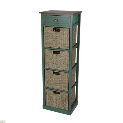 Country Cottage 5 Drawer Tallboy