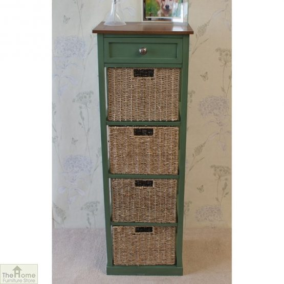 Country Cottage 5 Drawer Tallboy_1