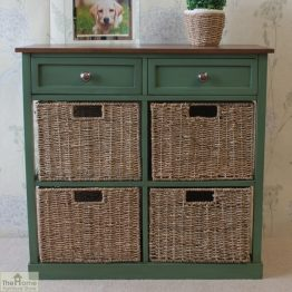 Country Cottage 6 Drawer Storage Chest_2
