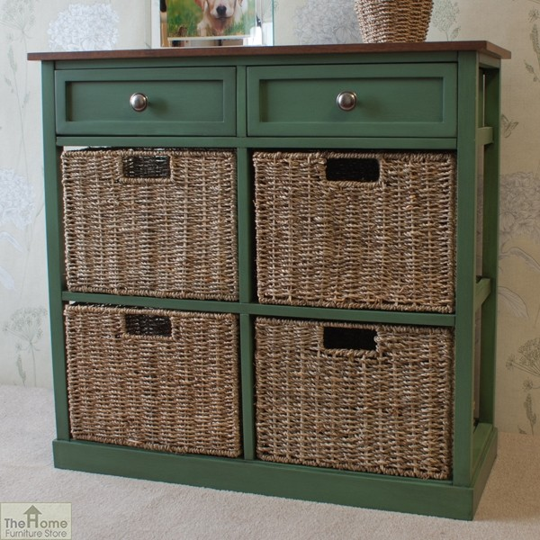 Country Cottage 6 Drawer Storage Chest_1