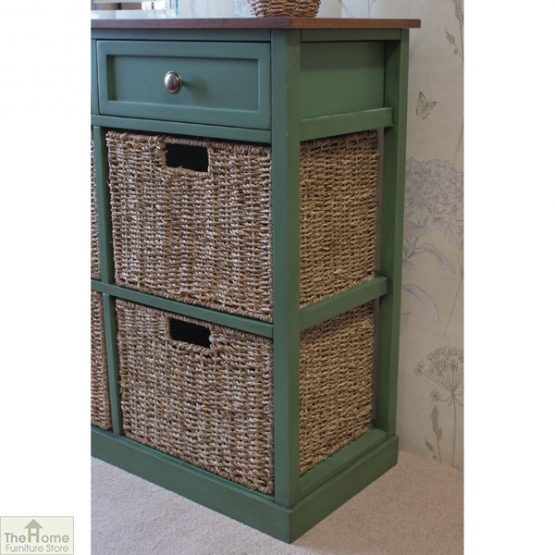Country Cottage 6 Drawer Storage Chest_3