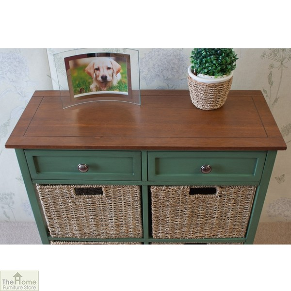 Country Cottage 6 Drawer Storage Chest_4