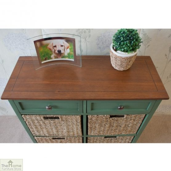 Country Cottage 6 Drawer Storage Chest_5