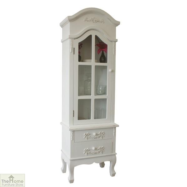 Limoges 2 Drawer Display Cabinet