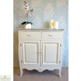 Devon Shabby Chic 2 Drawer 2 Door Sideboard_1