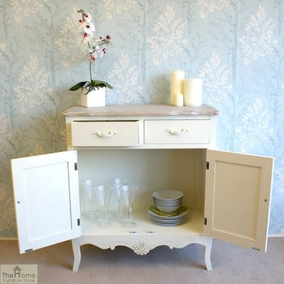 Devon Shabby Chic 2 Drawer 2 Door Sideboard_8