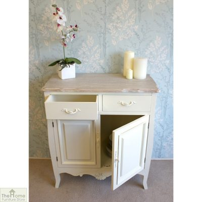Devon Shabby Chic 2 Drawer 2 Door Sideboard_7