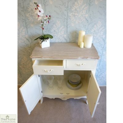 Devon Shabby Chic 2 Drawer 2 Door Sideboard_9