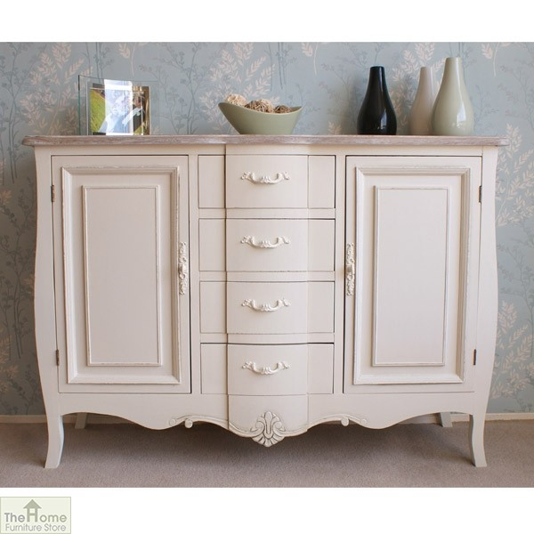 lowest price 3bfe8 835cb Devon Shabby Chic 4 Drawer 2 Door Sideboard | Home Furniture Store