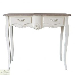Devon Shabby Chic 2 Drawer Console Table