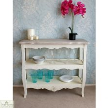 Devon Shabby Chic 2 Shelf Console Table