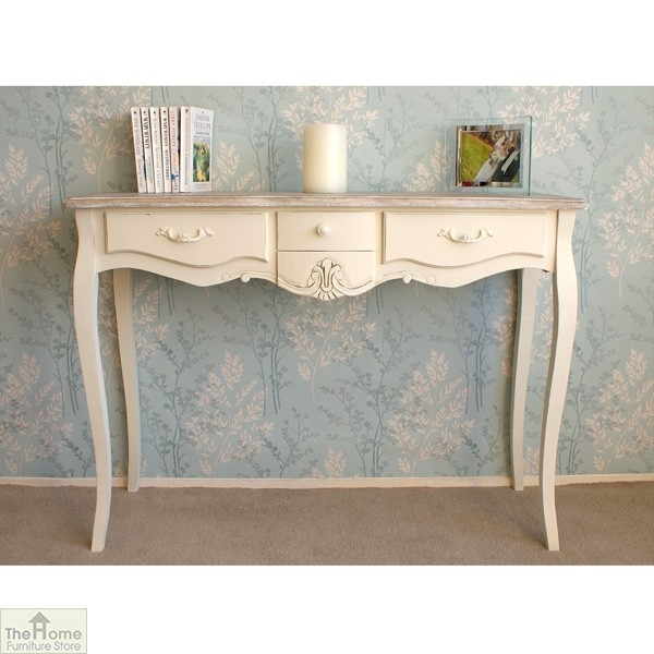 Devon 3 Drawer Console Table_1