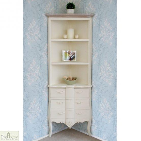 Devon 3 Drawer Corner Shelf Unit_1