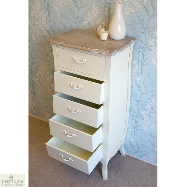 Devon 5 Drawer Tallboy_5