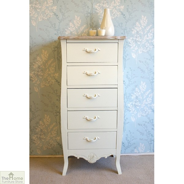 Devon 5 Drawer Tallboy_1