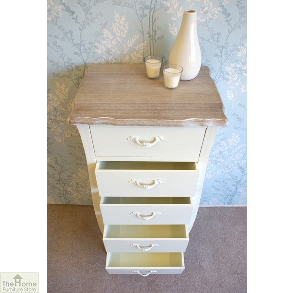 Devon 5 Drawer Tallboy_4