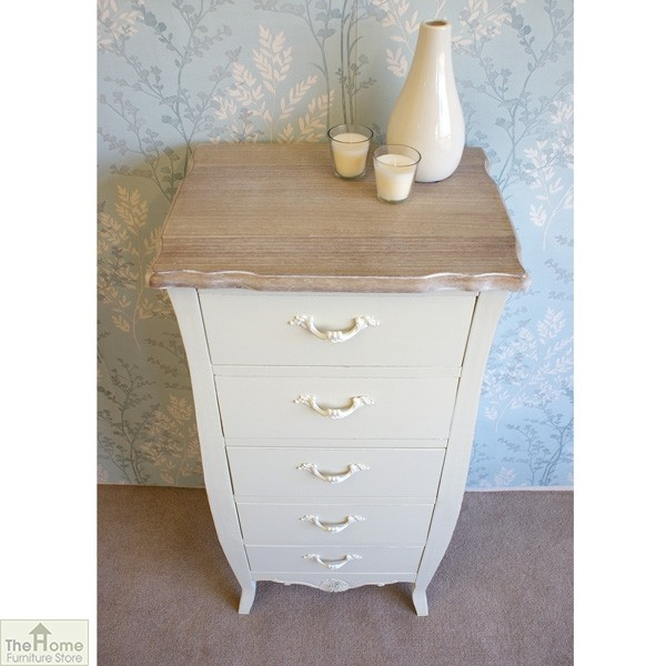 Devon 5 Drawer Tallboy_3