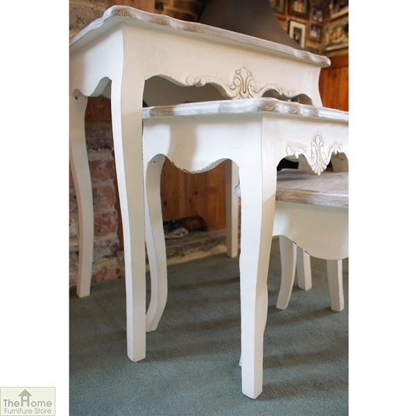 Devon Shabby Chic Nest 3 Tables_2