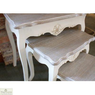 Devon Shabby Chic Nest of Tables_3