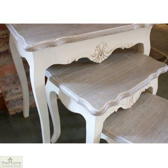 Devon Shabby Chic Nest 3 Tables_3