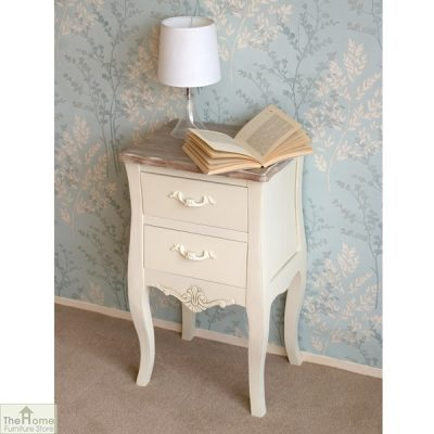 Devon Shabby Chic Bedside Table_2