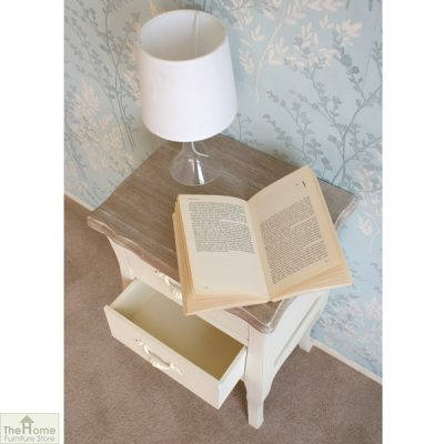 Devon Shabby Chic Bedside Table_5