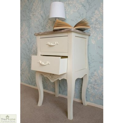 Devon Shabby Chic Bedside Table_3