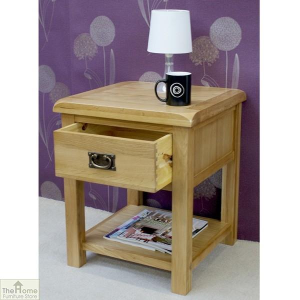 Farmhouse 1 Drawer Lamp Table_3