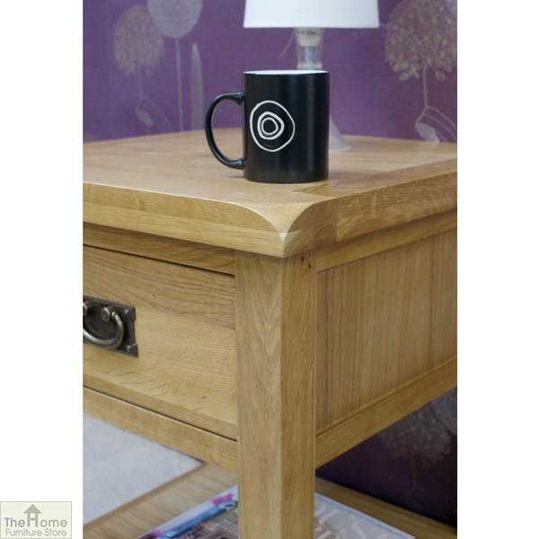 Farmhouse 1 Drawer Lamp Table_6