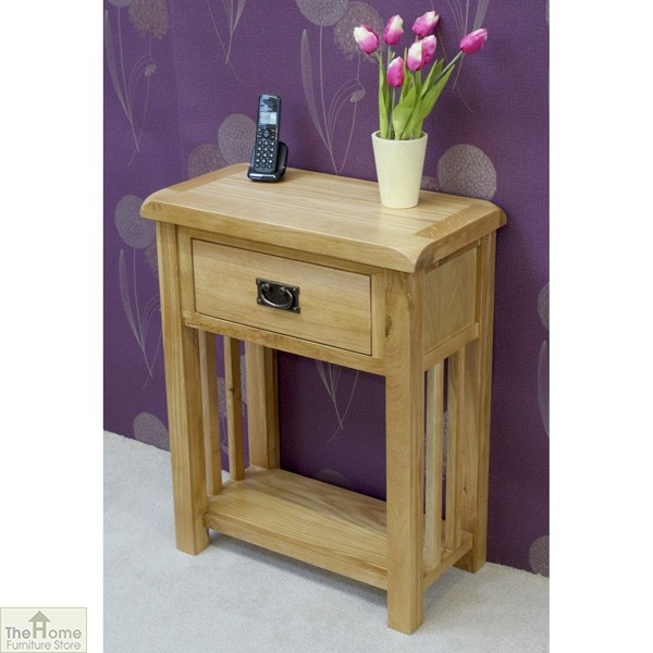 Farmhouse 1 Drawer Telephone Table_2