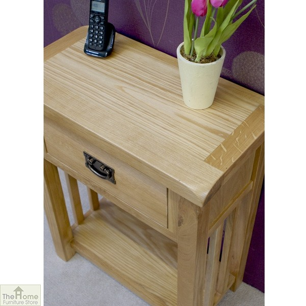 Farmhouse 1 Drawer Telephone Table_5