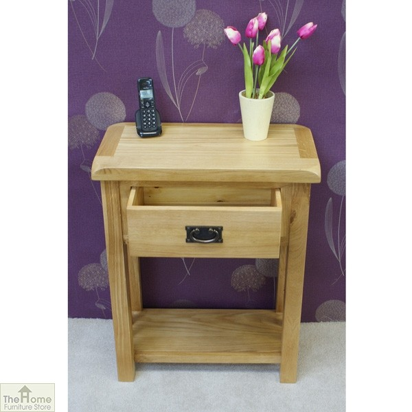 Farmhouse 1 Drawer Telephone Table_4