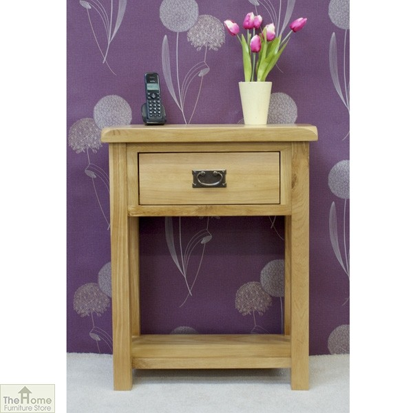 Farmhouse 1 Drawer Telephone Table_1