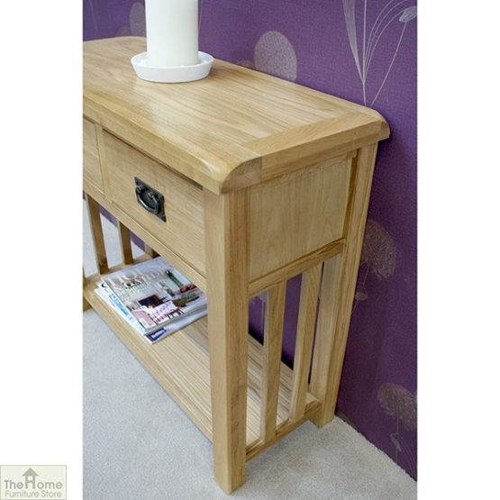 Farmhouse 2 Drawer Console Table_4