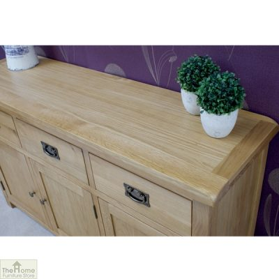 Farmhouse 3 Drawer 3 Door Sideboard_3