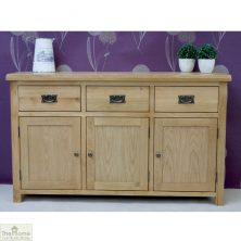 Casamoré Farmhouse 3 Drawer 3 Door Sideboard