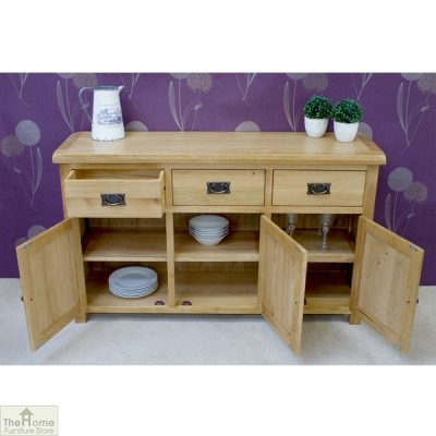 Farmhouse 3 Drawer 3 Door Sideboard_4