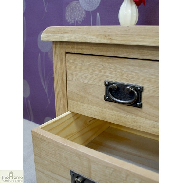 Farmhouse 3 Drawer Bedside Cabinet_6