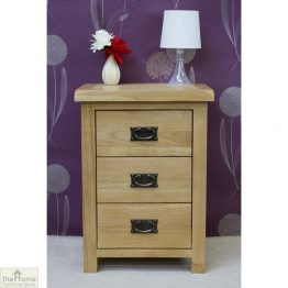 Farmhouse 3 Drawer Bedside Cabinet_1