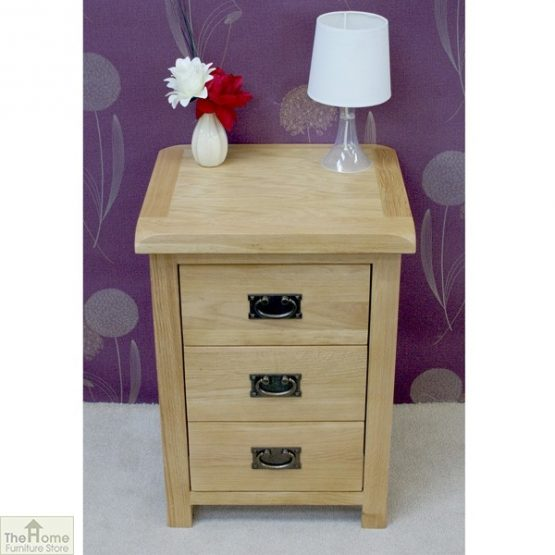 Farmhouse 3 Drawer Bedside Cabinet_2