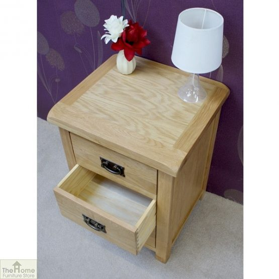 Farmhouse 3 Drawer Bedside Cabinet_5