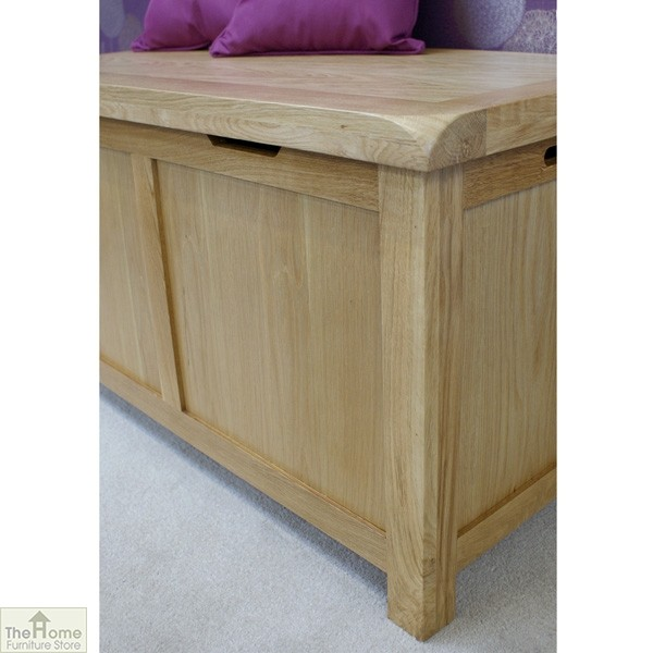 Farmhouse Oak Blanket Box_4