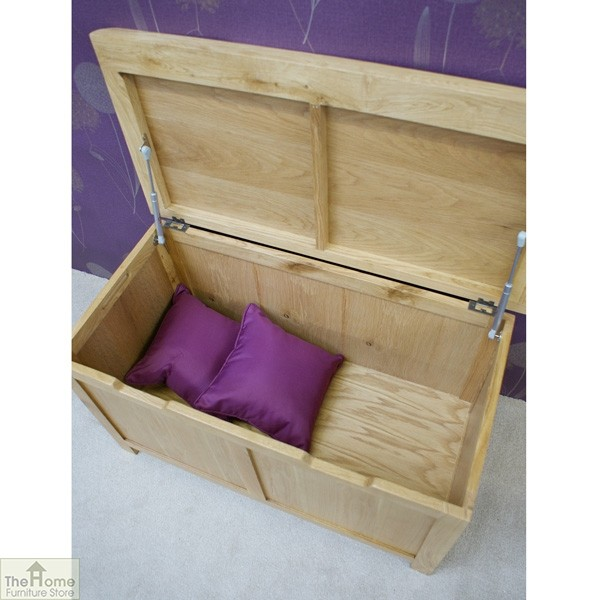 Farmhouse Oak Blanket Box_3