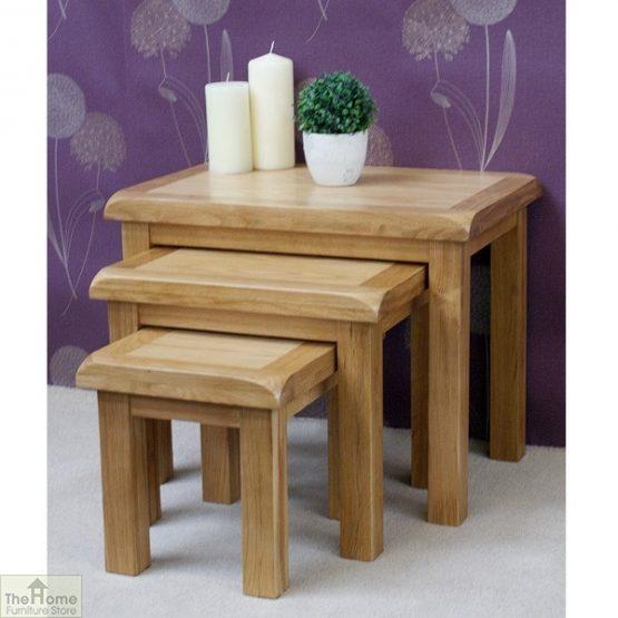 Farmhouse Oak Nest 3 Tables_2