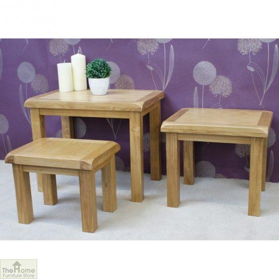Farmhouse Oak Nest 3 Tables_7