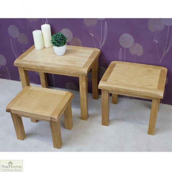 Farmhouse Oak Nest 3 Tables_6