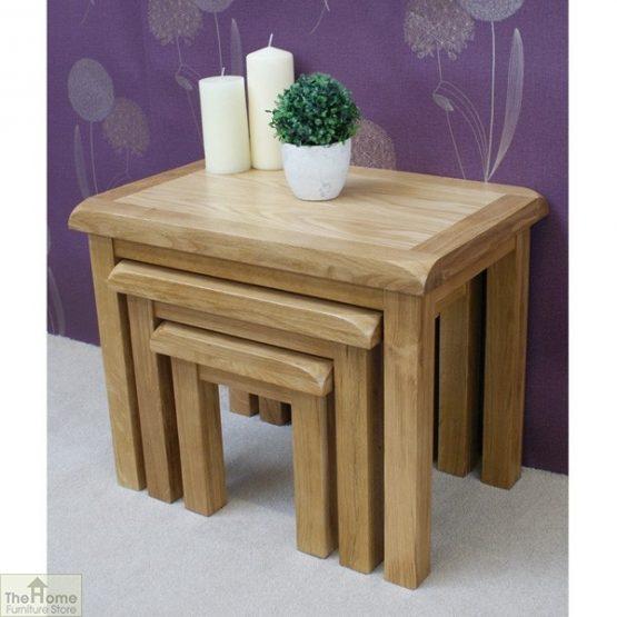 Farmhouse Oak Nest 3 Tables_1